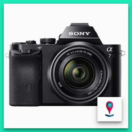 sony a7 camara reflex montura e full frame 24mp + 28-70mm