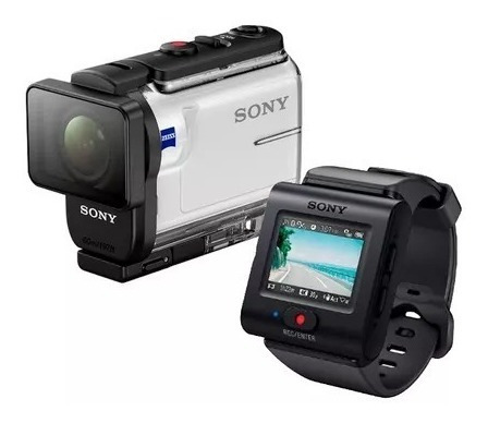 sony action cam con wi-fi accesorio deportivo hdr as300r