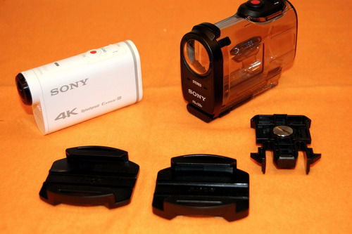 sony action cam fdr-x1000v 4k con wi-fi y gps