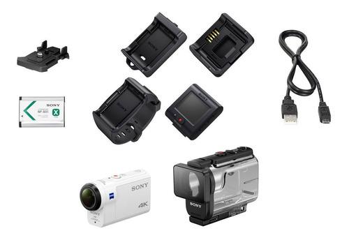 sony action cam fdr-x3000 4k con wi-fi y gps