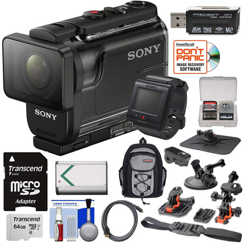 sony action cam hdr as50r wi fi cámara de video hd vid...