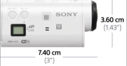 sony action cámara