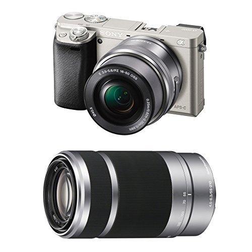 sony alfa a6000 cámara digital 24.3mp con 16-50mm zoom...