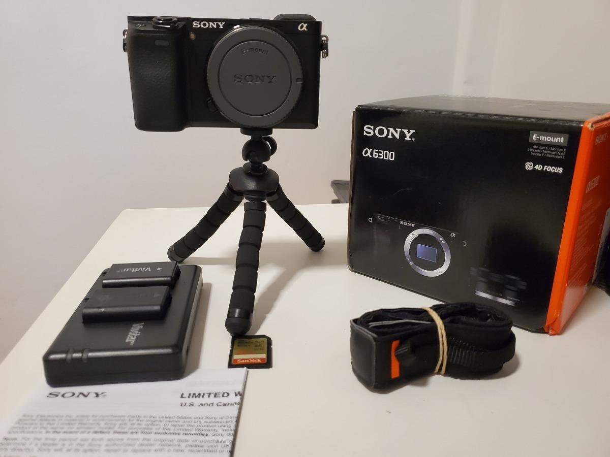 Cargador para Sony Alpha 6300 6300 a6300 ILCE