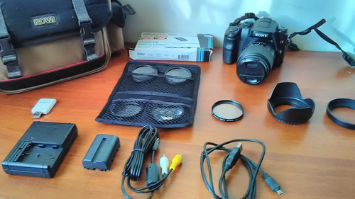 sony alpha a100k 10.2mp digital slr camera kit with 18-70mm