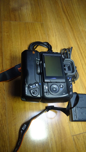 sony alpha a350 14.2mp 18 55  bat grip completa maletin