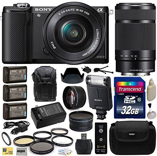 sony alpha a5000 cámara de lentes intercambiables de 2 w3