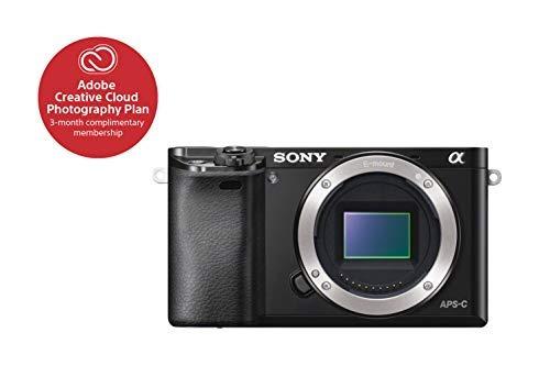 sony alpha a6000 mirrorless digital camera 24.3 mp slr camer