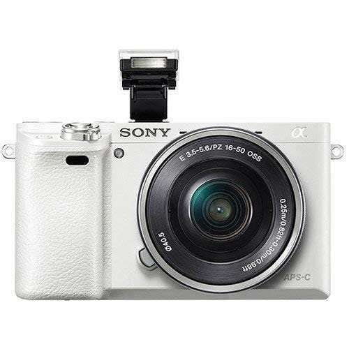 sony alpha a6000°cámara sin espejo w/1650mm. y lentes d