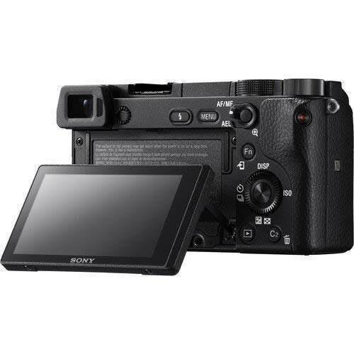 sony alpha a6300mirrorless cámara digital w/lente de 165