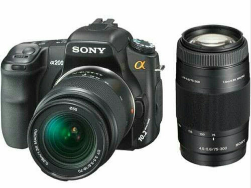 sony alpha lente 75 - 300 mm