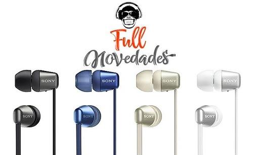sony audifonos bluetooth 5.0 wireless 15 horas wi-c310