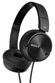 sony audífonos diadema mdr-zx110 celulares iphone ipod mp3 b