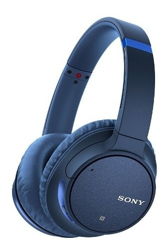 sony audífonos inalámbricos noise cancelling ch700n azul