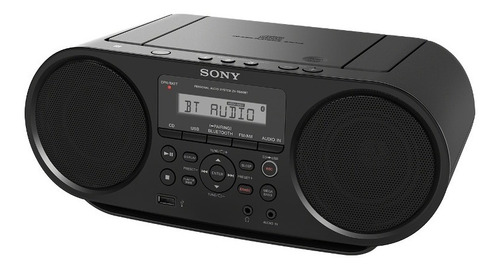 sony boombox con cd y bluetooth zs-rs60bt