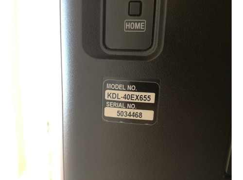 sony bravia kdl -40ex655