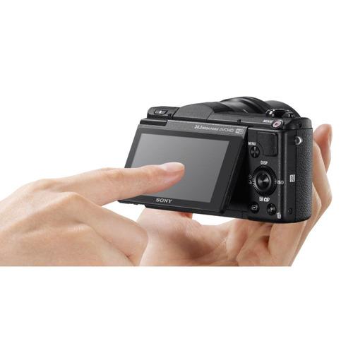 sony - bundle cámara ilce 5100 + lente sel55210