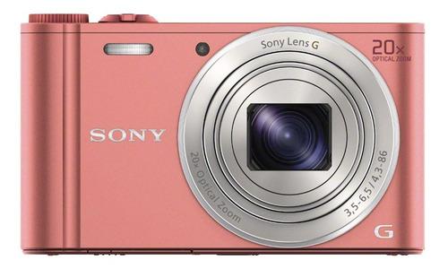 sony cámara compacta wx350 con zoom óptico de 20x