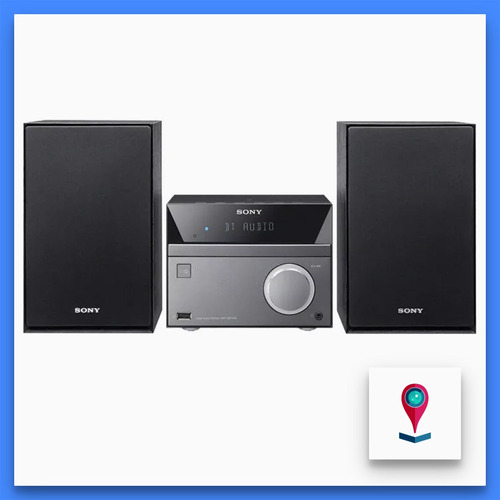 sony cmt-sbt40d minicomponente c/bluetooth nfc 50w cd/dvd