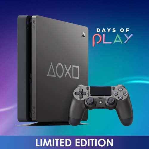 sony consola playstation 4 slim ps4 1tb days of play