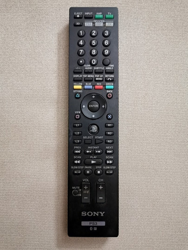 sony  control remoto para blue ray y ps3