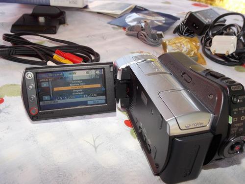 sony dcr-sr85 hd de 60gb handycam casi nueva vendo permuto