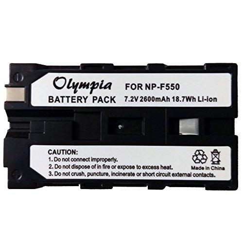 sony dcr-vx2100 batería (paquete de 3) amp; kit cargador -