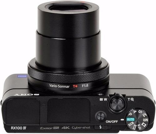 sony dsc-rx100 mark iv sensor cmos tipo 1.0 4k