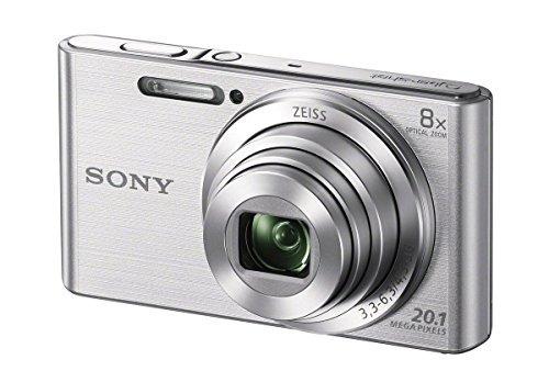 sony dscw830 cybershot 201mp cámara digital 64gb tarjeta de