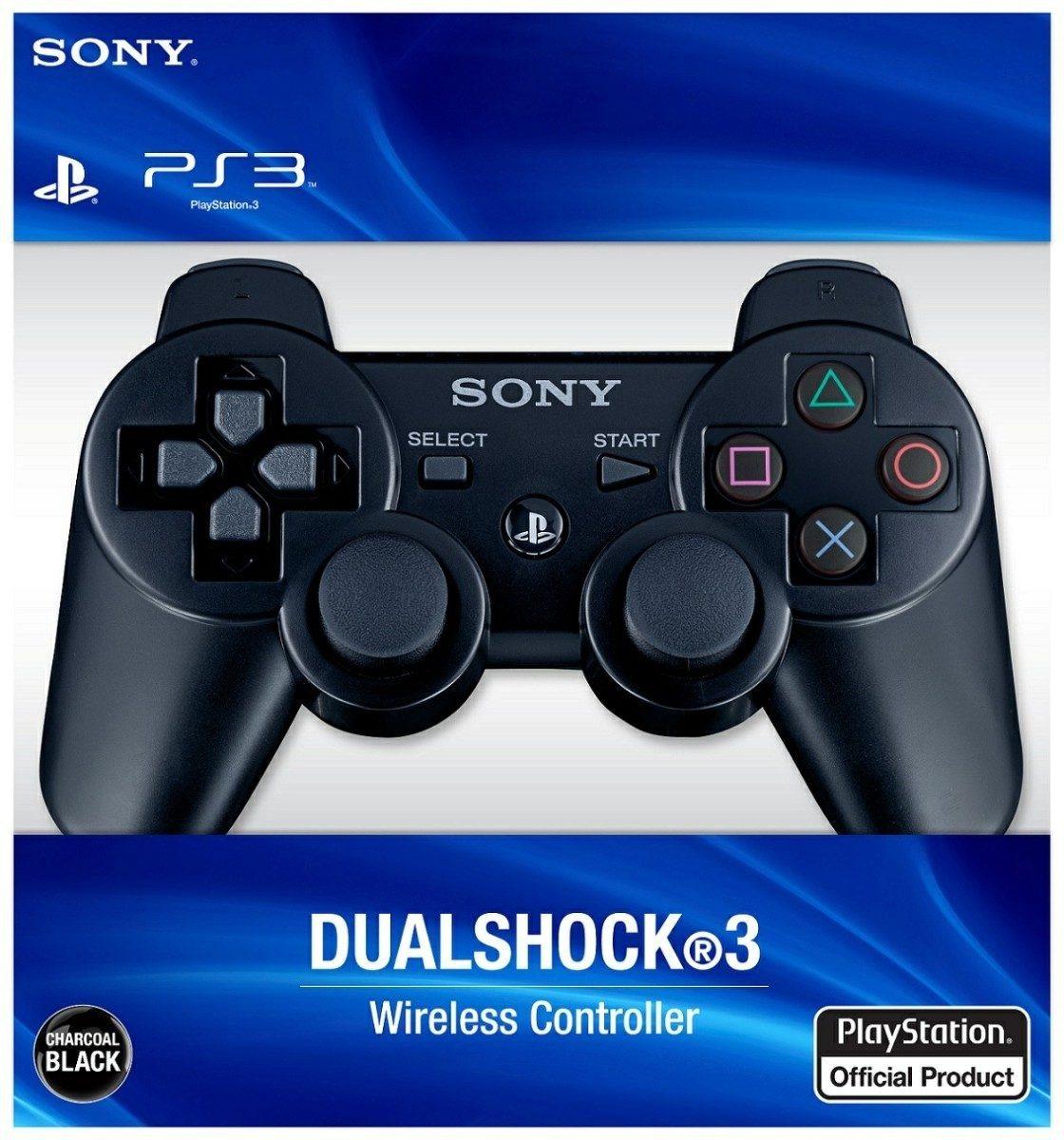 JOYSTICK PS3 NEGRO