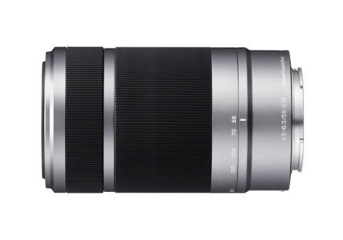 sony e 55-210mm f4.5-6.3 oss lente para sony e-monte plata