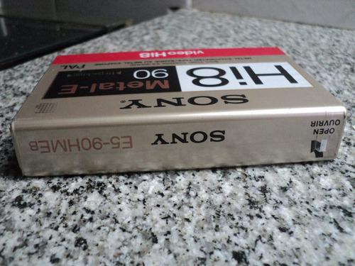 sony e5-90 hmeb hi8-metal e video cassette pal japan