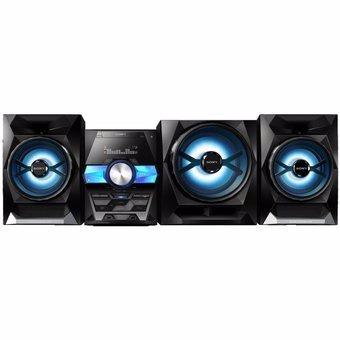 sony - equipo de sonido stereo mhc-gpx555 - negro