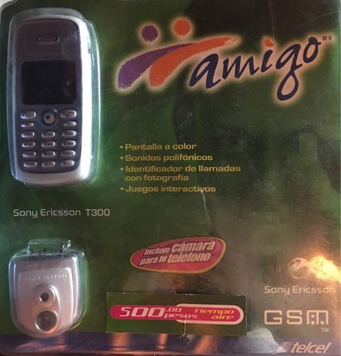 sony ericsson t300 celular telcel nuevo