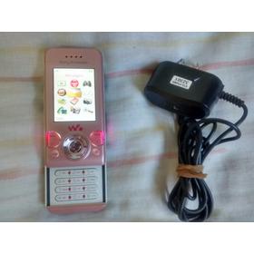 Sony Ericsson W580 I (original) Slaid Leds Mult-cores Rosa