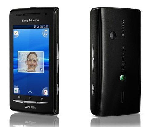 sony ericsson xperia x8 e15a, wi-fi 3.2mp android de vitrine