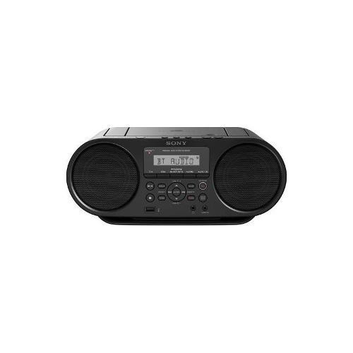 sony - estéreo portátil de cd - negro