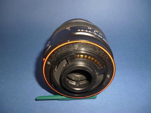 sony estupendo lente para camara sony alpha. 18-55 mm