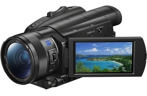 sony fdr ax700 4k filmadora sem juros
