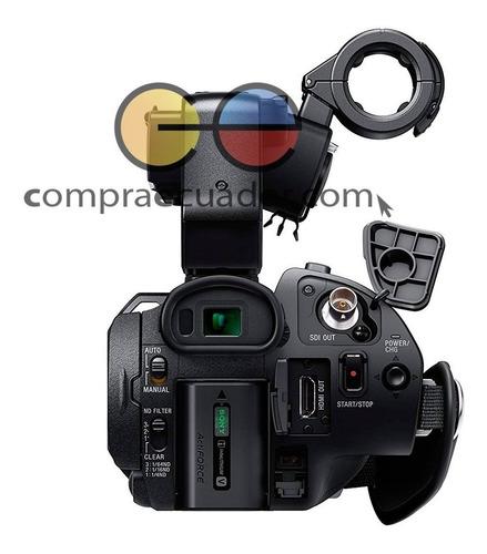 sony  filmadora profesional xdcam con sensor cmos zoom 12x