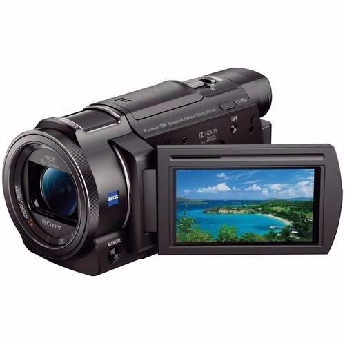sony filmadora sony fdr ax33 4k ultra hd - negro