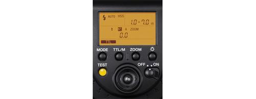 sony flash externo para zapata de interfaz múltiple f43m
