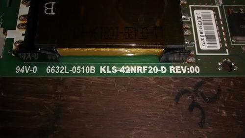 sony fwd-s42h1 backlight inverter 6632l-0510b kls-42nrf20-d