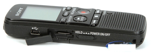 sony grabadora periodista digital usb con mem 4gb