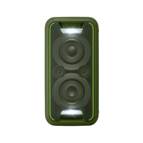 sony - gtk-xb5 sistema de audio de alta potencia (verde)