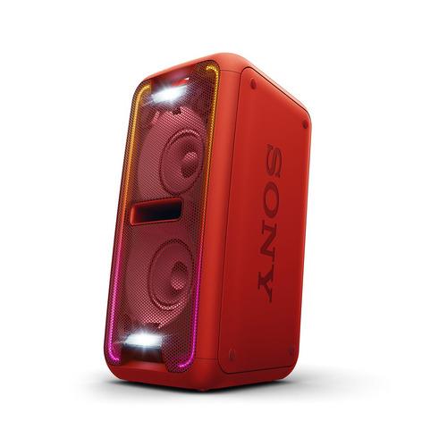 sony -  gtk-xb7 sistema de audio en casa con bluetooth rojo