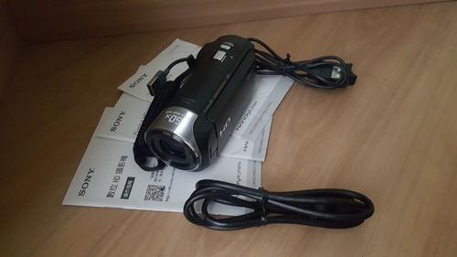 sony handycam filmadora