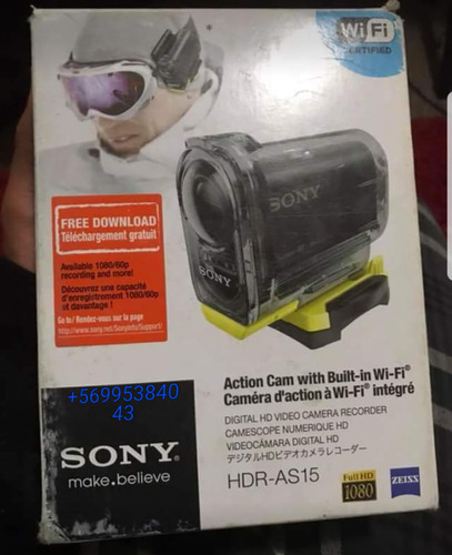 sony hdr- as15