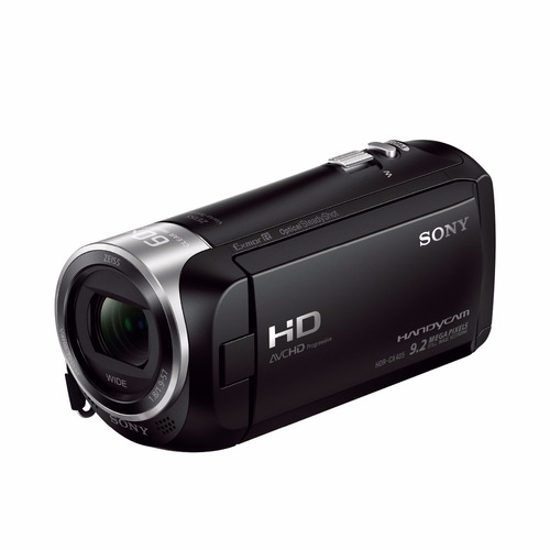 sony hdr-cx405 filmadora hd steady shot 30x zoom c zeis