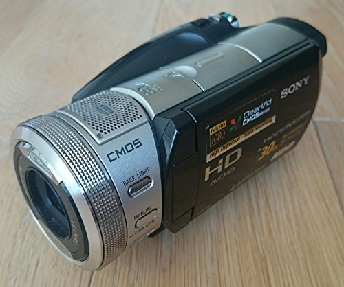 sony hdr-sr1e pal avc hd 30gb hard-disc handycam(r) camcorde